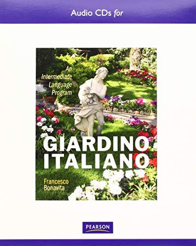 Text Audio CD for Giardino italiano: An Intermediate Language Program
