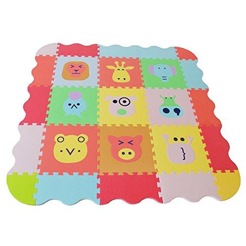 Style home 14mm dick Kinderfreundlich nach neuer RICHTLINIE (EU) 2015/2115 Bodenmatte Puzzlematte Spielteppich Kinderteppich Spielmatte Lernteppich SH-KPM-A3
