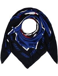 Peacoat 901 Tommy Hilfiger Damen TOMMY BANDANA Halstuch One Size Blau Herstellergr/ö/ße: OS