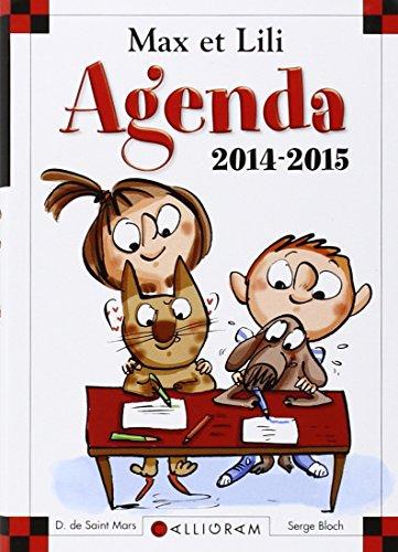 Agenda Max et Lili 2014-2015