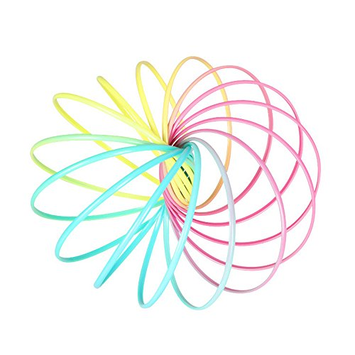 Yagii Glühen LED Leuchten Flow Ring 3D Zauber Kinetic Frühling Armband Spielzeug Wissenschaft Pädagogisches Sinnes Interaktives Kühlen Spielzeug