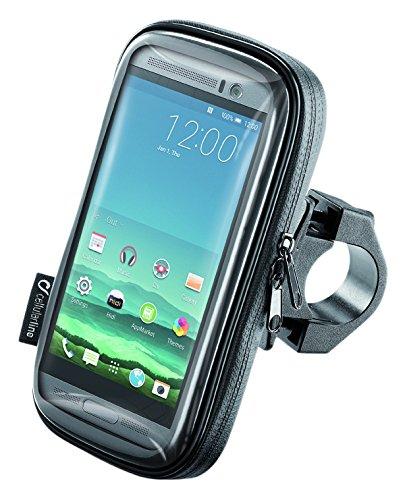 Interphone smsmart52 Cellularline Custodia Universale da Moto per cellulari Fino a 5,2 Pollici, UNICO
