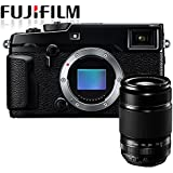 Fuji X-Pro2 Mirrorless Compact System Camera w/ XF55-200mm f3.5-f4.8 OIS zoom lens (16MP, APS-C X-Trans CMOS Sensor) 3 inch