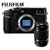 Fuji X-Pro2 Mirrorless Compact System Camera w/ XF55-200mm f3.5-f4.8 OIS zoom lens (24MP, APS-C X-Trans CMOS Sensor) 3 inch