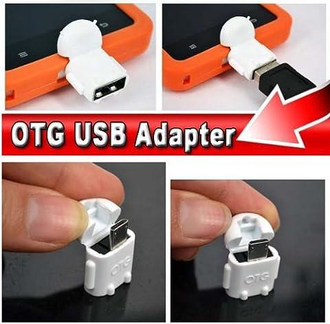 KRS A1 Weiss - USB OTG Robot - otg Adapter