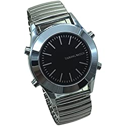 English Talking Watch with Alarm Expanding Bracelet