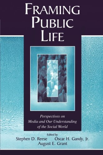 Framing Public Life: Perspectives on Media and Our Understanding of the Social World (Routledge Communication Series) (2003-07-13) par unknown author