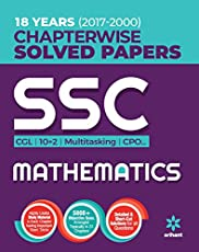 SSC Chapterwise Solved Papers Mathematics 2018