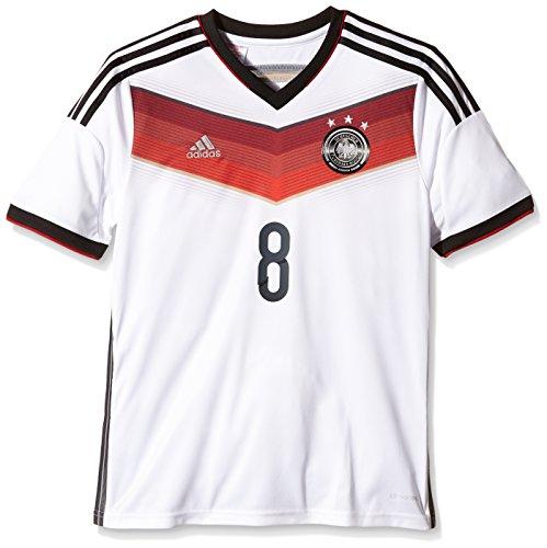 adidas Kinder Trikot DFB Fanshop Deutschland Home Oezil, Weiß, 164, D04262 (Brasilien Heim Fußball-shirt)
