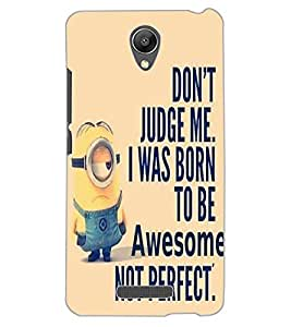 ColourCraft Quote Design Back Case Cover for XIAOMI REDMI NOTE 2 PRIME