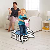 World's Apart A-Zebra Toddler Trampoline with Sounds - 3