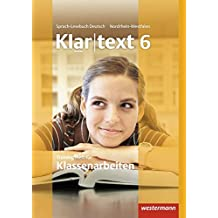 Klartext - Ausgabe für Nordrhein-Westfalen: Trainingsheft für Klassenarbeiten 6