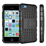 iPhone 5C Case With Kickstand / Stand,EMAXELERS Slim Protective Design Secure Non-Slip Grip - Best Reviews Guide
