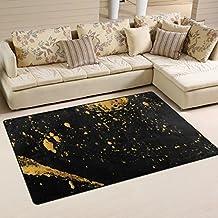 Suchergebnis auf Amazon.de für: Teppich Schwarz Gold