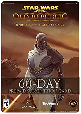 Star Wars: The Old Republic - 60 Tage Prepaid Abonnement Spielzeit Code [PC Online Code]