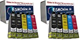 10 Multi-Box komp. XL Druckerpatronen für Epson 29XL Epson Expression Home XP 235 245 247 332 335 342 345 432 435 442 445 4 x Black 2 x Cyan 2 x Magenta 2 x Yellow