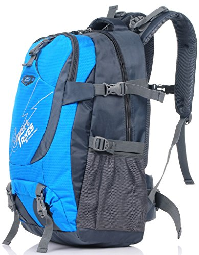 Taikes Outdoor Backpack Climbing Backpack Sport Bag Camping Backpack Red-2