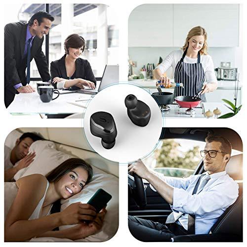 Wslhcsure Bluetooth Kopfhörer Kabellos V5.0 Touch Bluetooth Headset Sport Ohrhörer Wireless In Ear Kopfhörer 3000mAh Kontinuierliche Fahrt für 90h Unterstützung der Siri IPX7 Wasserdicht Mikrofon - 7