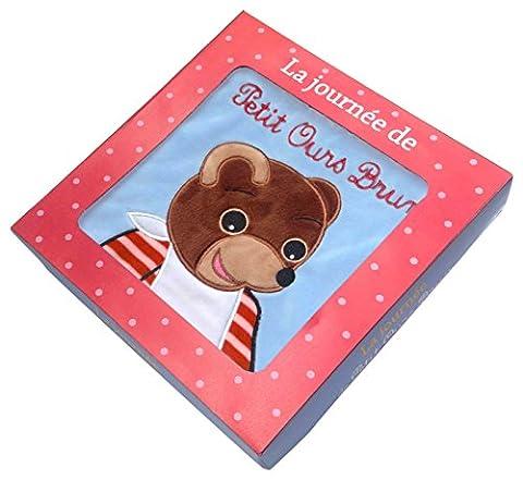 La journée de Petit Ours Brun: Livre tissu