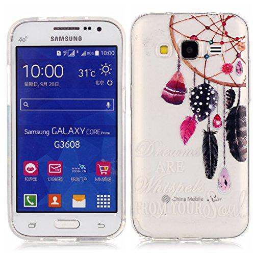 Samsung Galaxy Core Prime G360 Coque, AYASHO® Ultra Mince Motif Matériel De TPU de téléphonie mobile De Silicone Housse Pour Samsung Galaxy Core Prime G360  Core Prime VE Value Edition G361, M12
