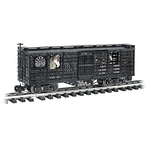 BAC98701 98701 Animated Stock Car D&RG w/Horses G by Bachmann Trains