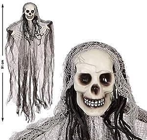 Atosa 57757 Esqueleto decorativo, Unisex - Adulto, Gris