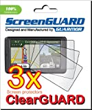 "GUARMOR - 3x Garmin Nuvi 2595 2595LT 2595LM 2595LMT 5.0"" GPS Premium Clear LCD Screen Protector Cover Guard Film, Exact fit and no cutting! (3 pieces)"