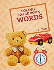 Amazon Brand - Solimo Long Board Book, Words