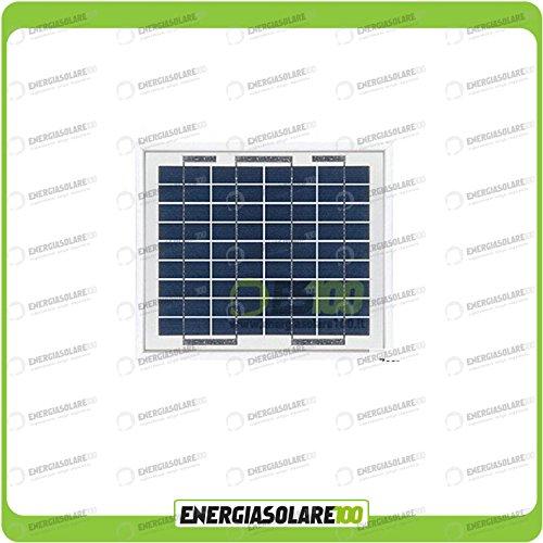 Los módulos solares fotovoltaici son ideales para aplicaciones en caravanas, casas aisladas, Nautica y mucho más. Estos paneles solares fotovoltaici son particularmente sólidos. La conexión es effettuabile directamente a la caja de unión.'Rendimiento...