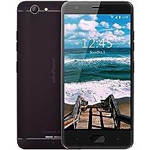 Ulefone U008 Pro 4G-LTE Smartphone ohne Vertrag - 5 Zoll HD Display, Corning Gorilla Glass 3, integierter 3500 mAh Akku, Android 6.0, Dual SIM Dual Standy, 2GB RAM+16GB ROM, 13MP Hauptkamera/5MP Frontkamera, WiFi, Bluetooth 4.0, GPS, Schwerkraft Sensor (Schwarz)