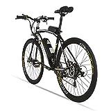 Elektrische City Bike extrbici RS600Mans Elektrische Road Bike 700C × 50cm starken Carbon Stahl Rahmen 240W 36V 15Ah Lithium-Ionen-Akku mit Schlüssel Start Shimano 21Geschwindigkeiten Dual Scheibenbremsen mit 3Riding Modelle für Mann
