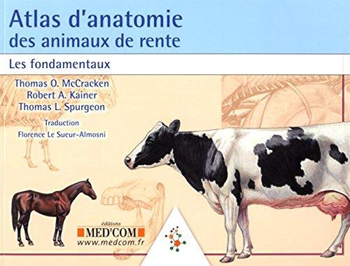 Atlas d'anatomie des animaux de rente