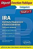 IRA Instituts Régionaux dAdministration Concours externe.