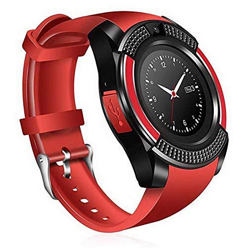 AchidistviQ Smart Watch Bluetooth V8 SIM 2G Handy Fernbedienung Foto Schrittzähler Sport Armband 2g Sport Armband