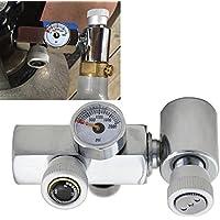 mangobuy Recambio de cilindro de CO2adaptador conector latón Homebrew Kit para depósito de llenado Soda Stream