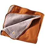 Best Carhartt Blankets - Carhartt .101800.211.S006 Blanket, Large, Brown Review