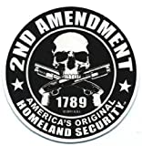 Motorcycle Helmet Sticker - 2nd Amendmen...