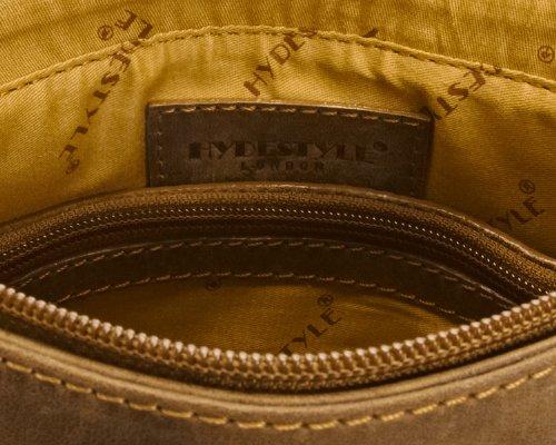 Hydestyle Borsa Messenger, Venator Hunter Messenger S, marrone - marrone, UM1716 marrone