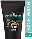 MCaffeine Naked & Raw Coffee Face Wash, 100 ml | White Water Lily