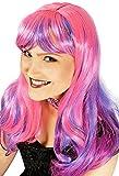 Langhaar Perücke Tara - Pink Lila - zu Cosplay und Anime Kostümen
