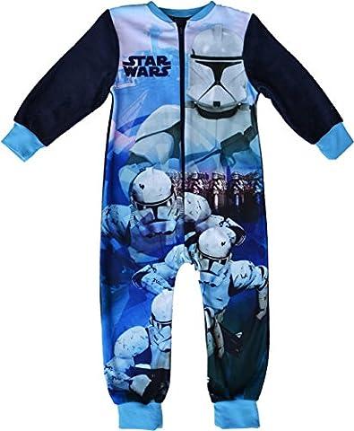 Disney Jungen Schlafanzug Blau blau Gr. 3-4 Jahre,