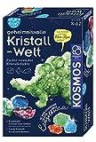 KOSMOS 654153 Fun Science - Geheimnisvolle Kristallwelt. Verrückte Kristallobjekte selbst züchten. KOSMOS Experimentierset für Einsteiger. -