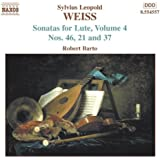 Weiss: Sonatas for Lute Vol. 4
