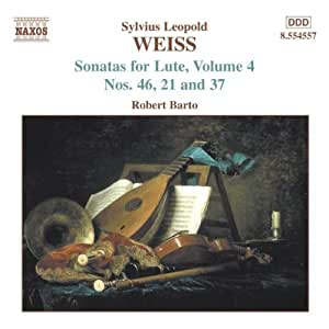 Weiss: Sonatas for Lute, Vol. 4