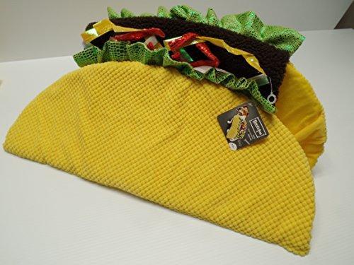 Bootique Taco Hund Kostüm, XXL, 55,9-63,5cm - Taco Hunde Kostüm