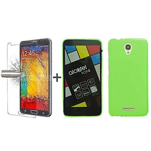 tbocr-pack-custodia-gel-tpu-verde-pellicola-protettiva-per-display-in-vetro-temperato-per-alcatel-po