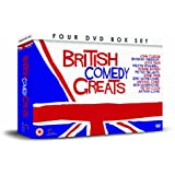 BRITISH COMEDY GREATS 4 DVD Gift Set
