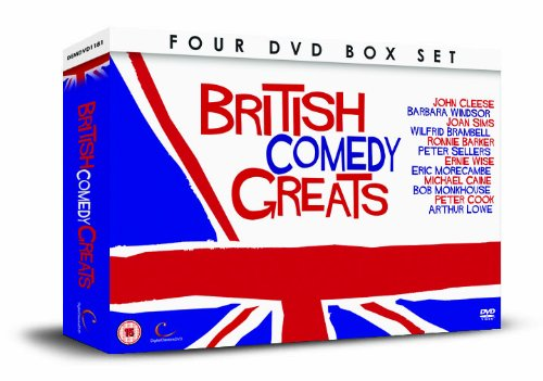 BRITISH COMEDY GREATS 4 DVD Gift...