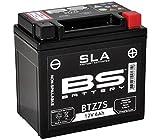 Xfight-Parts Batterie BTZ7S 12V 6A SLA DIN 507902 Versiegelt 113x105x70mm 0.537.900-3 für Yamaha DT 125 R