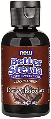 Now Foods Better Stevia Extract Liquid Dark Chocolate 60 ml 2 oz by Now Foods